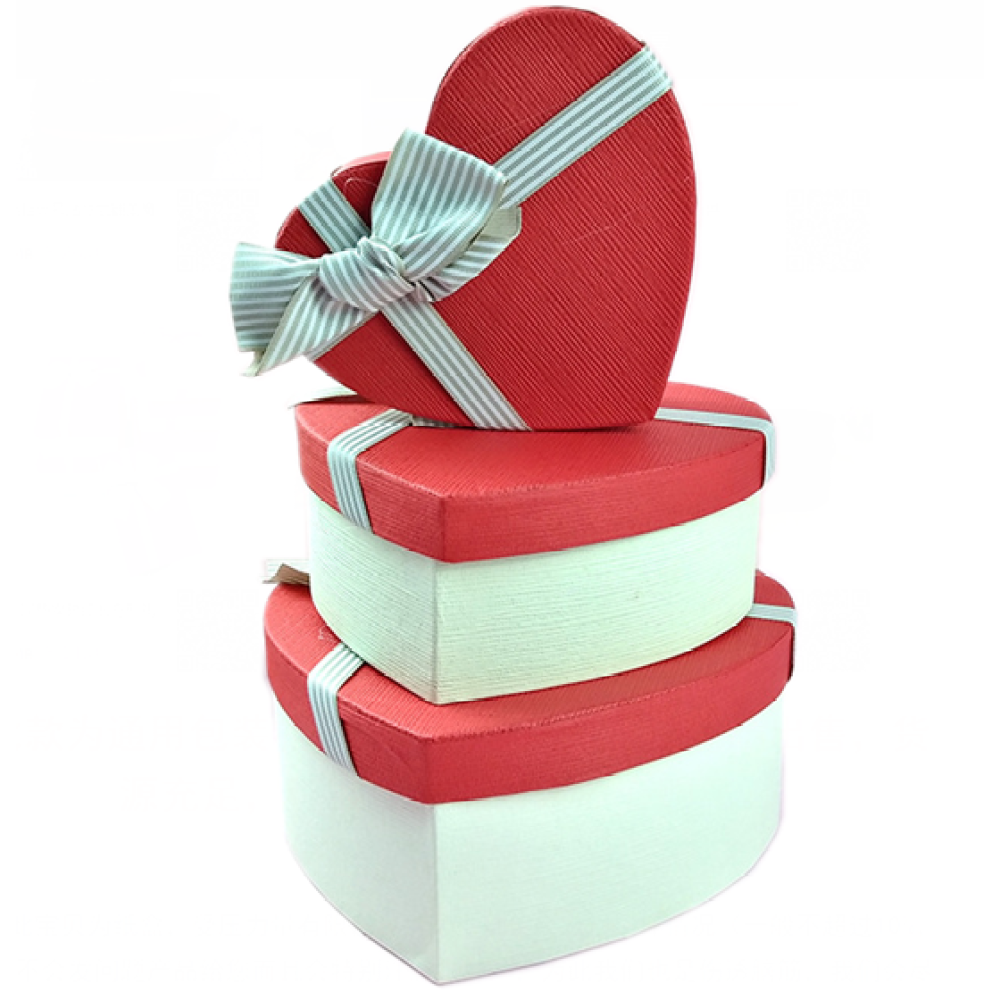 Heart Shape Gift Box For Flowers & Gifts
