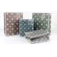 White Cardboard Gift Bag Star Designs Pack 100