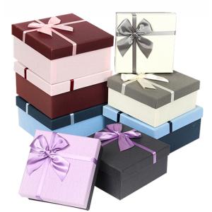 Square Gift Box Multi-Colors Set 3