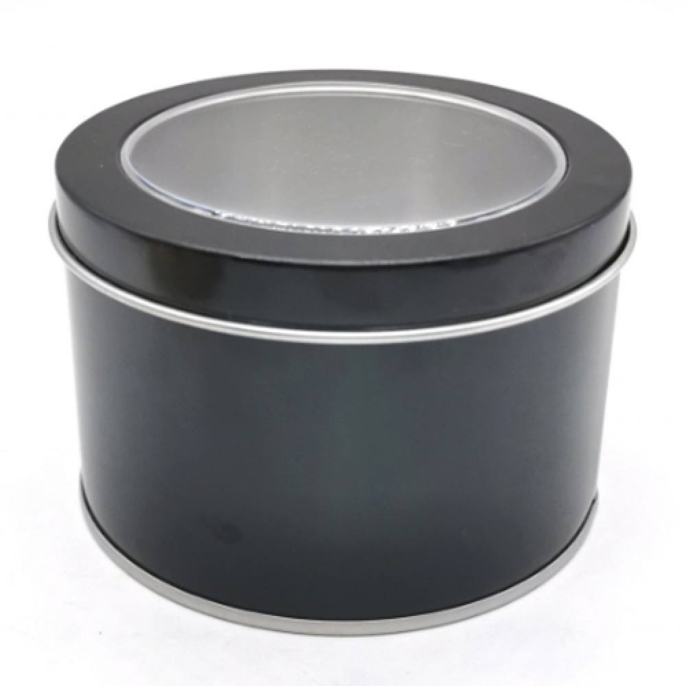 Round Tin Gift Box Customized Logo