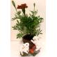 Easter Bunny Flower Pot