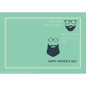 Fathers Day Cards 10cm*15cm