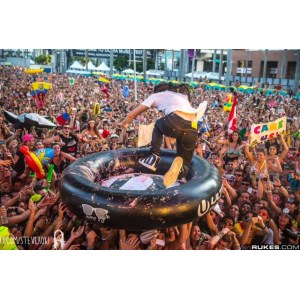 Branding Inflatable Raft For Event Marketing
