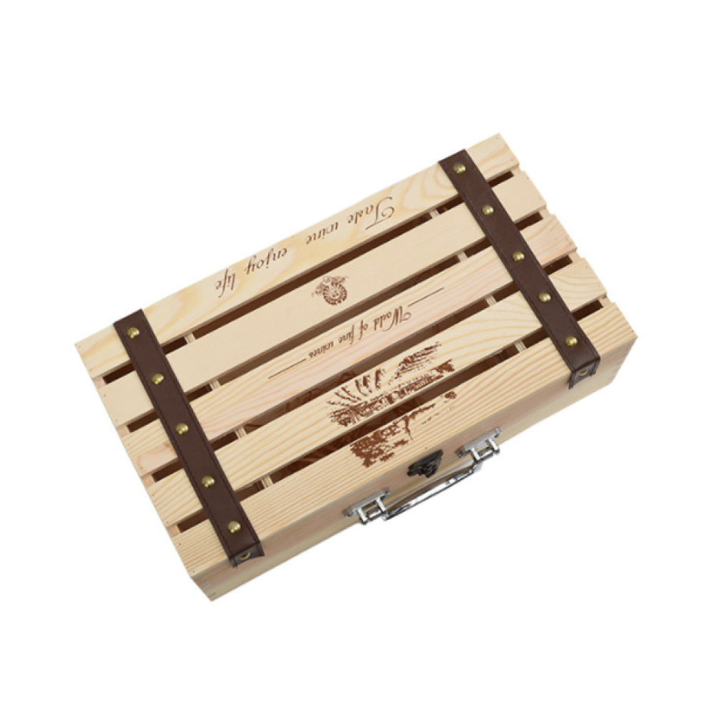 Wooden Wine Box For Gift Packaging