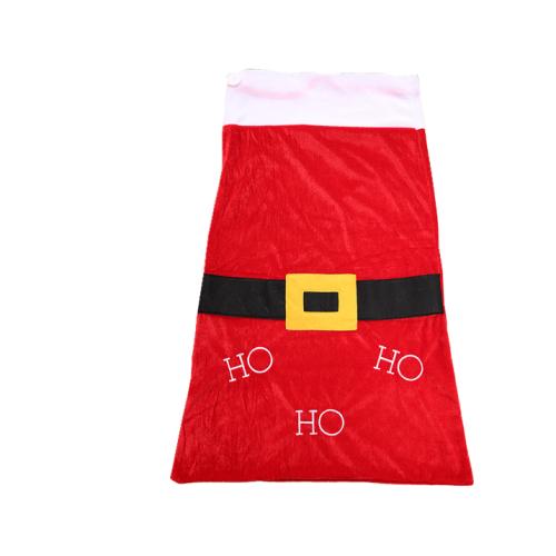 Big Size Red Christmas Sack With Drawstring