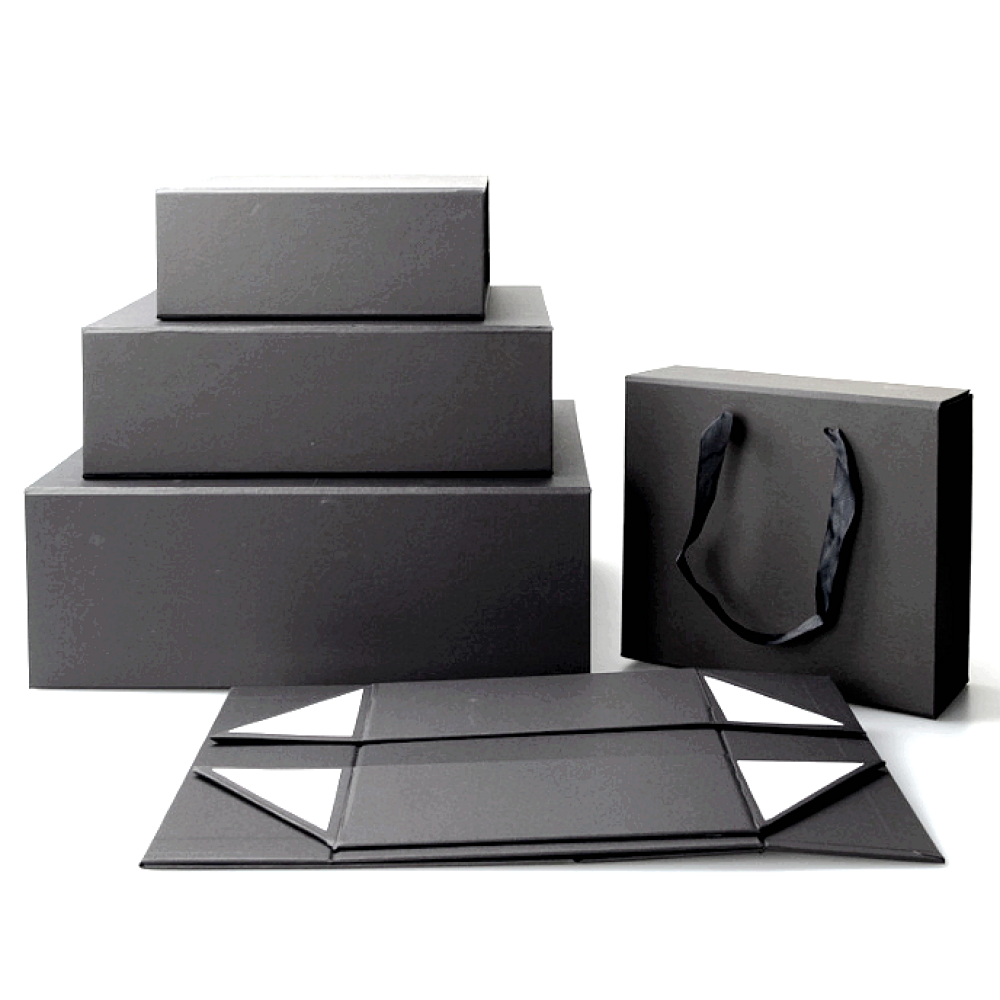 Black Magnetic Gift Box