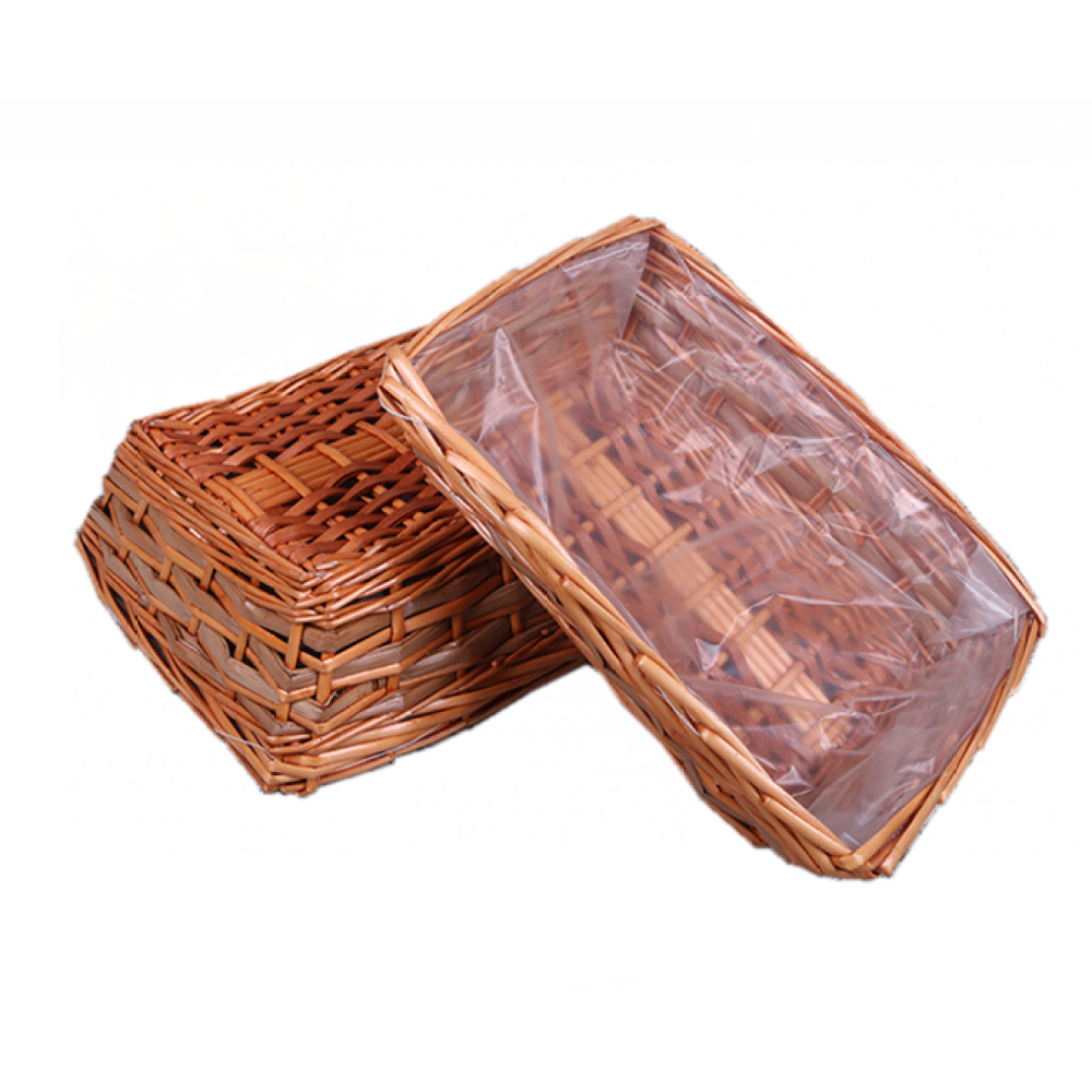 Study Square Willow Basket Without Handle