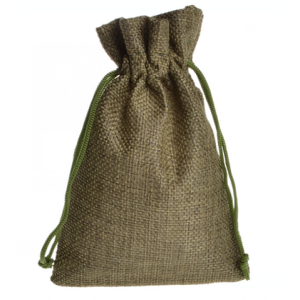 Green Christmas Drawstring Bag Set