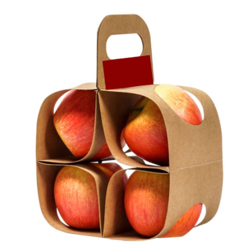 Apple Gift Packaging Box Customized Logo Available