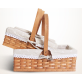 Basket With Handle Fabric Included Set 3
