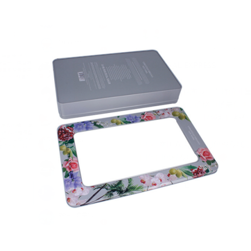 Branding Tin Box With PVC Window