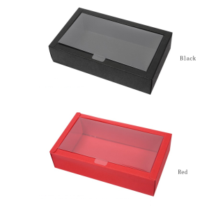 Window Gift Box 4 Colors Available Pack Of 10