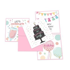 Happy Birthday Cards 12cm*12cm