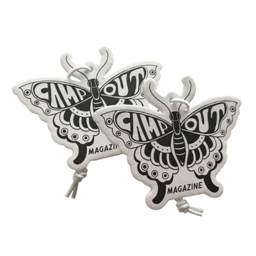 Butterfly Car Freshener Customized Logo