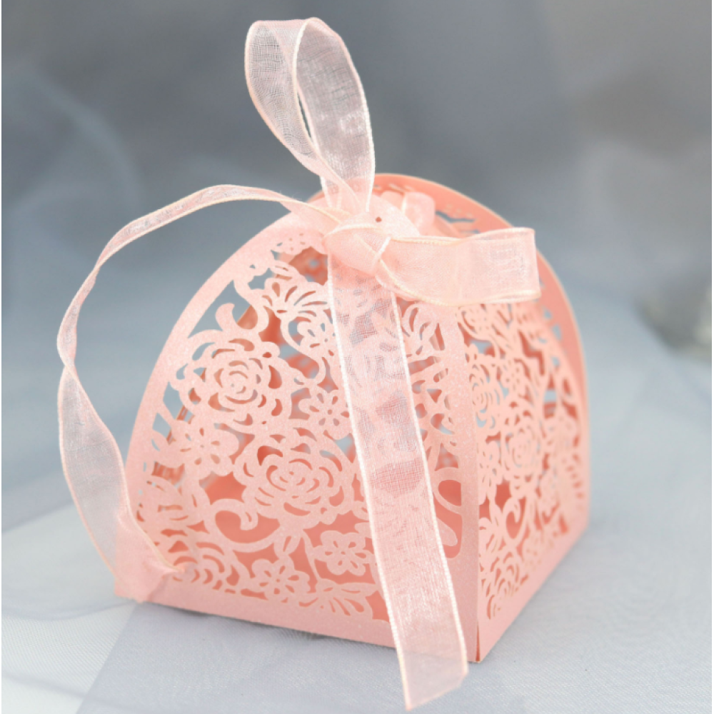 Candy & Chocolate Gift Box Laser Paper Design