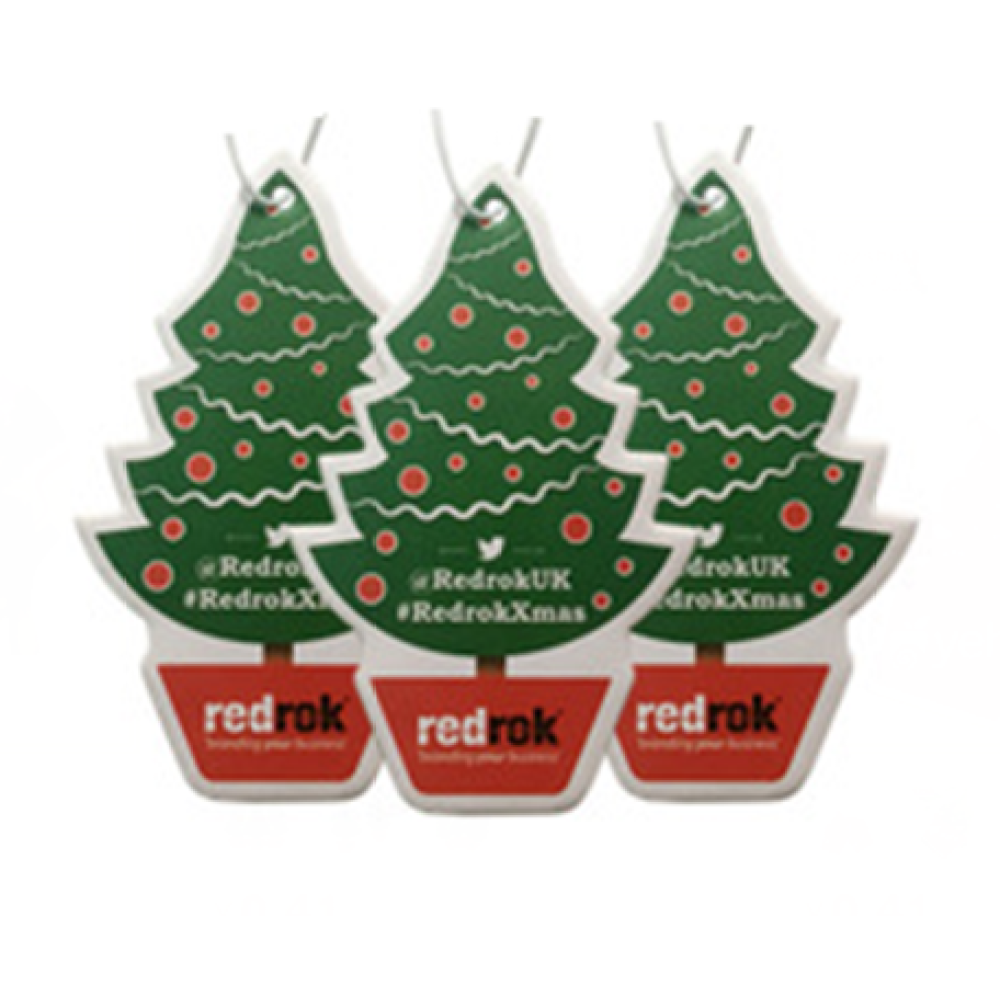 Christmas Tree Promotional Car Freshener