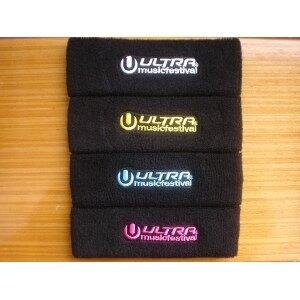 Workouts Sweatband Customized Logo & Size