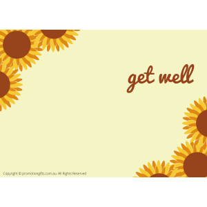 Get Well Cards 10cm*15cm