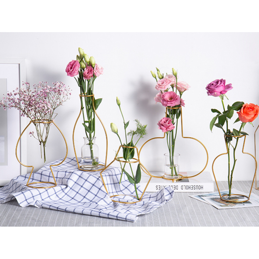 Metal Wire Fashion Vase