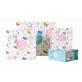 Floral Design Carry Gift Bag Enjoy Your Time