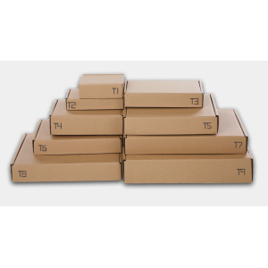 Wholesale Mailing Boxes Different Sizes & Colors