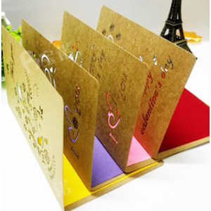 Kraft Paper Gift Cards For All Occasions 10*15cm With Envelops