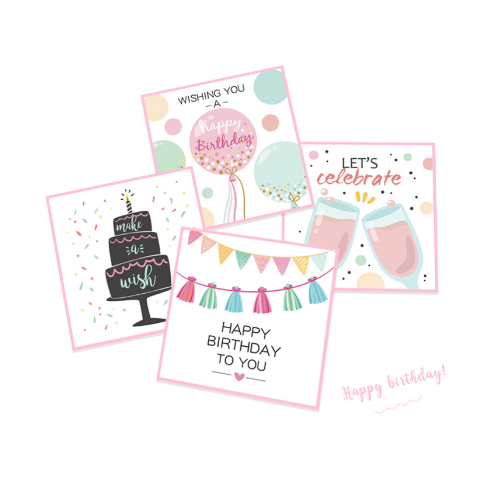 Happy Birthday Cards 12cm*12cm