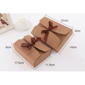 Kraft Gift Box With A Bow