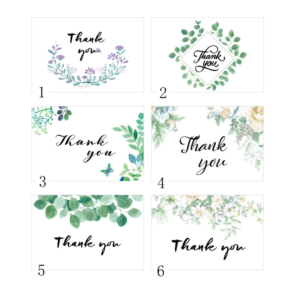 Thank You Cards 10cm*15cm