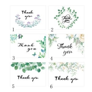 Thank You Cards 10cm*15cm