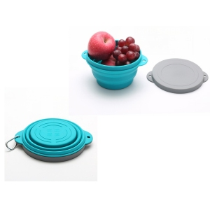 Silicone Folding Bowl Two Sizes 720ml & 1000ml