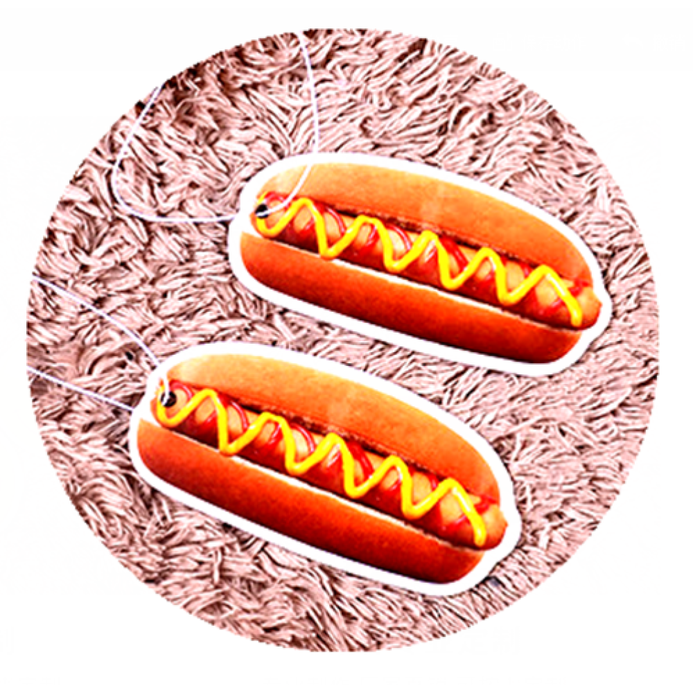 Hot Dog Sandwisch Car Freshener Customized Logo