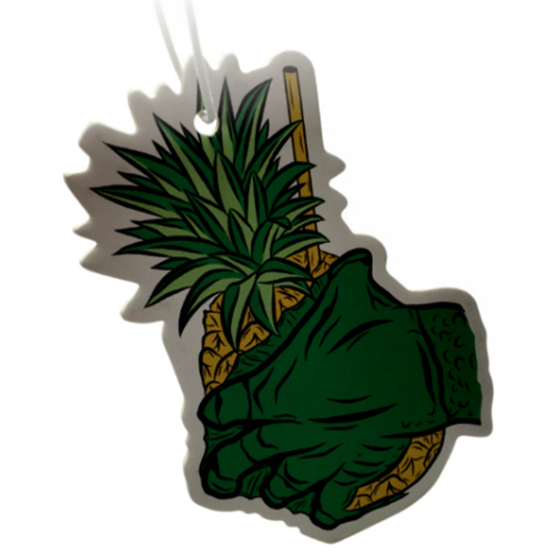 Pineapple & Hand Car Freshener Customized Logo