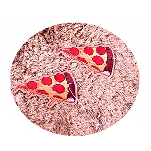 Pizza Car Freshener Customized Logo