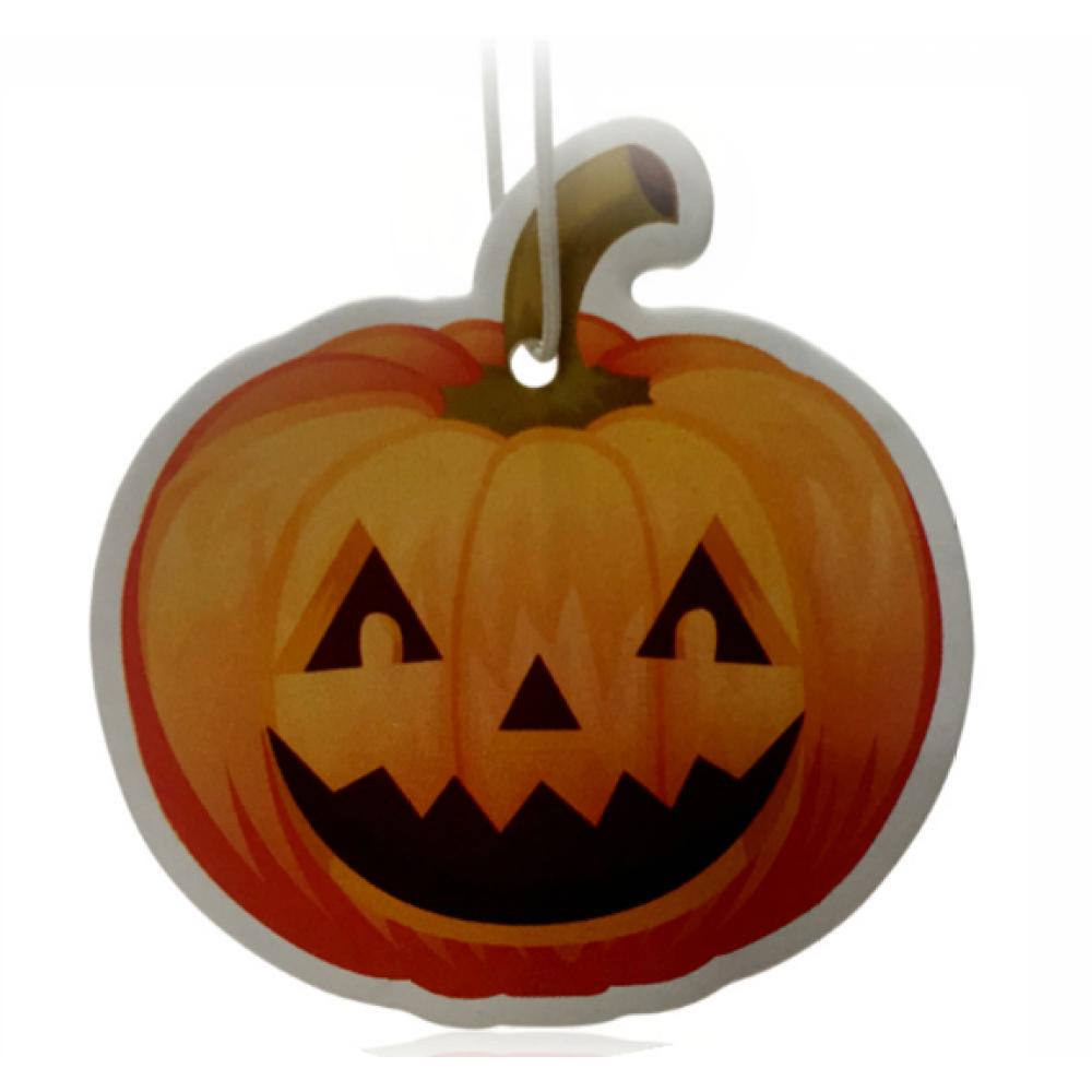 Pumpkin Car Freshener Promotional Idea