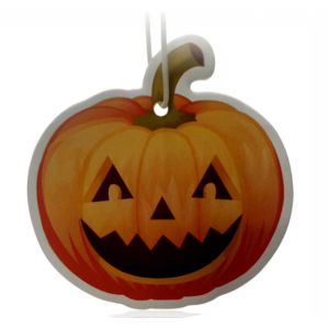 Pumpkin Car Freshener Promotional Idea