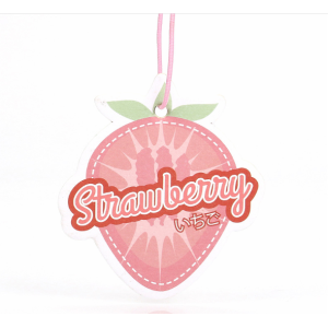 Strawberry Car Freshener Customized Logo