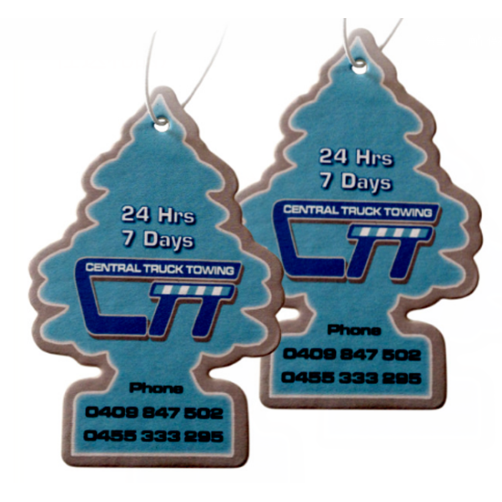 Car Freshener Customized Logo & Fragrance