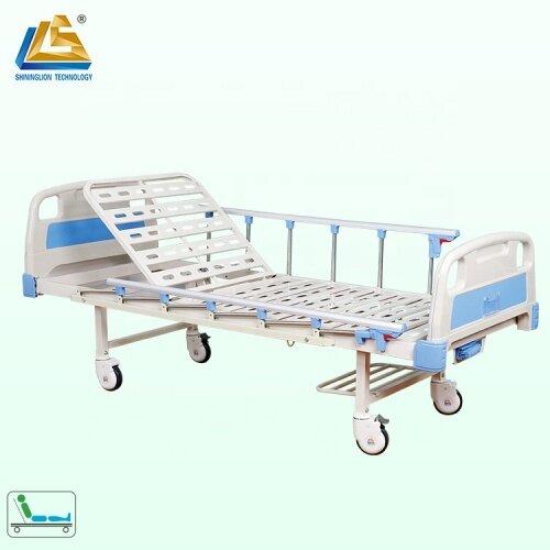 Single rocker medical hospital bed