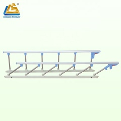 Hospital bed side rails collapsible bed rail for Hospital Bed
