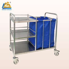 hospital laundry medical cart trolley for hospital used