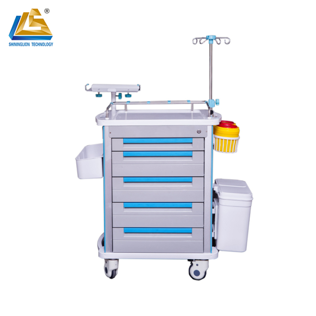 Mobile Medical Cart Trolley Medical Trolley