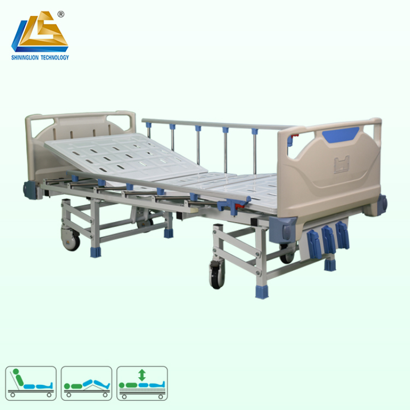 Hot sale hospital bed three rocker medical bed