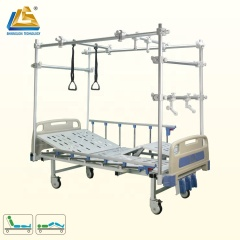 Manual Orthopedic Traction Bed with Trapeze Bar