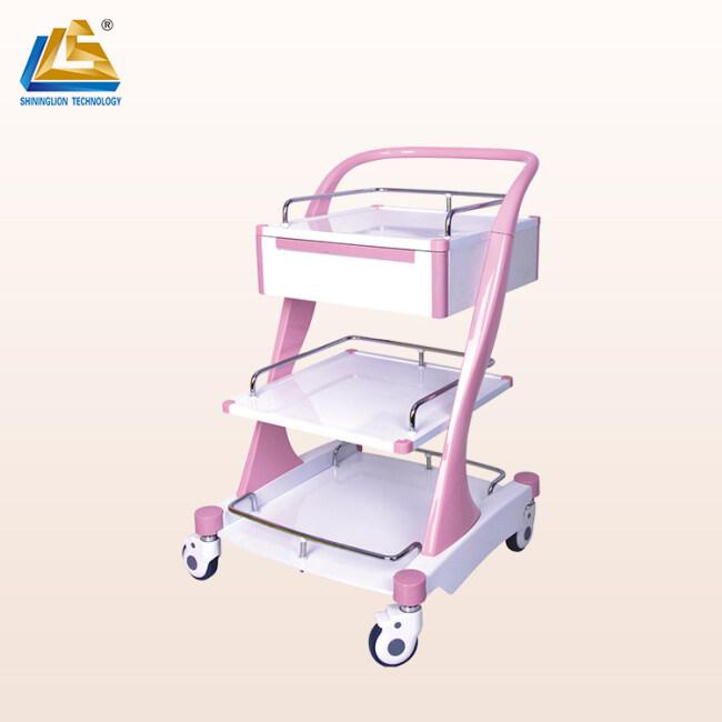 Hospital Treatment Trolley for Nurse Medical Treatment Trolley