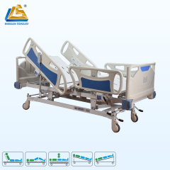 Five function remote controller electric medical bed
