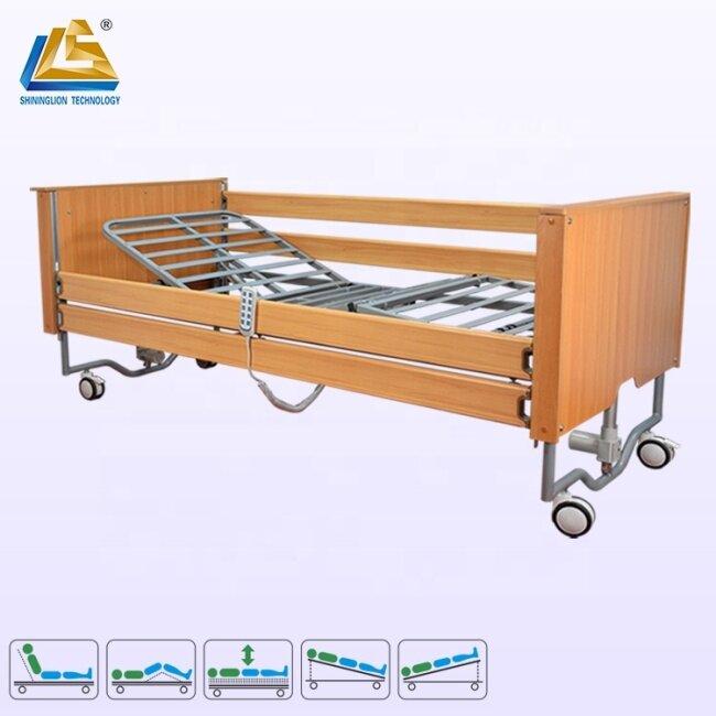 Elderly uses five function electric nursing bed
