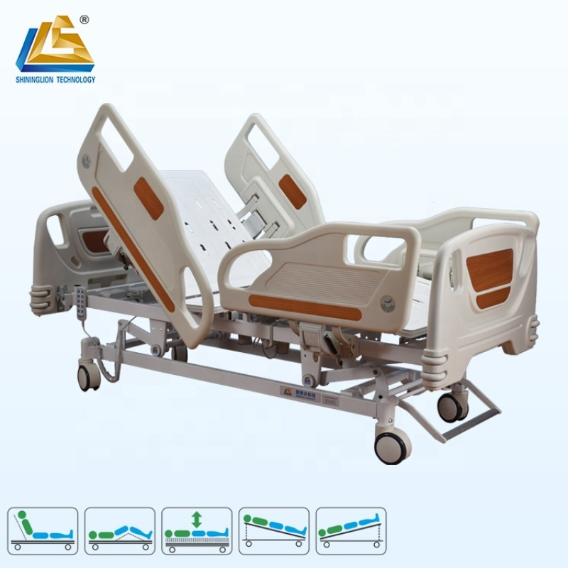 Deluxe ICU bed five function electric medical bed