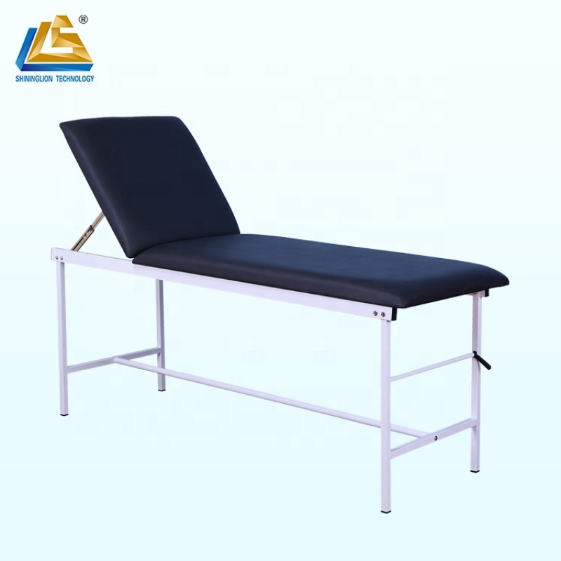 PU Cushioned Stainless Steel Examination Table