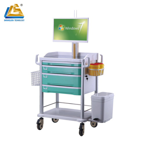 New style computer cart for nurse